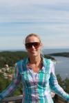 Jag på Lotsberget med Ulvöhamn i bakgunden