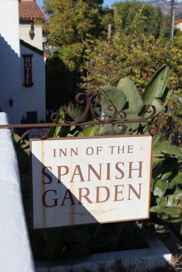 Hotellet vi bodde på