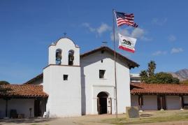 Presidio, en av de äldsta byggnaderna inne i centrala Santa Barbara