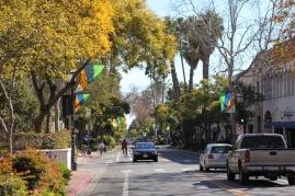 Huvudgatan i Santa Barbara
