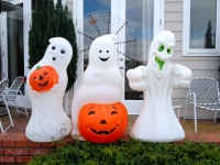 Glad trio spöken