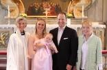 Vi med präst Ulla-Britt och praktikant Frida